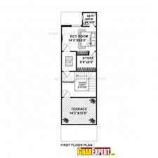 small bedroom floor plans modern image of gorgeous house plan for 16 54 plot plot
