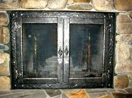 replacement fireplace doors majestic insert glass for gas 1982