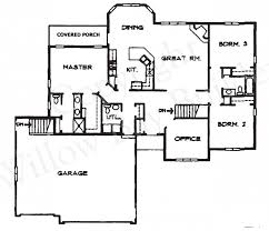 Ranch Floor Plans Open Concept Open Ranch House Floor Plans Plan Kitchen And Living Room Pictures