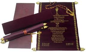 wedding cards in india scroll indian wedding cards tbrb info