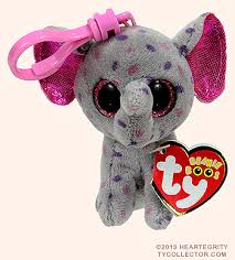 specks clip ty beanie boos elephant