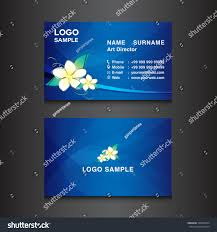 9 99 Business Cards Blue Business Card Designcard Design Vector Stock Vector 336696674