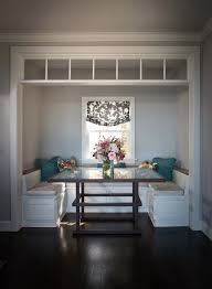 Banquette Booths Outstanding Banquette Booth Andrea May Hunter Gatherer Neat Breakfast Nook With U Shaped