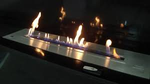 ethanol burner with remote control bl100 a fire install your