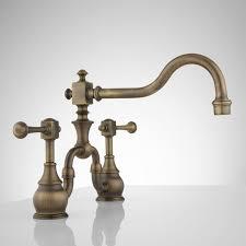 vintage bridge kitchen faucet u2013 lever handles u2013 kitchen within