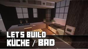 minecraft küche bauen minecraft möbel tutorial moderne küche bad bauen 4 haus