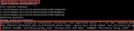 alter table not null 1062 duplicate entry 3 for key