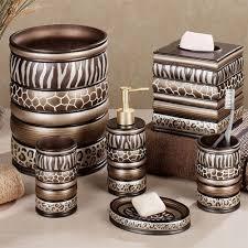 zebra print bathroom accessories bathroom interior home design