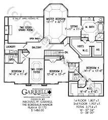 manor house plans bordeaux manor house plan house plans by garrell associates inc