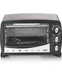 Kraft 18 Ltrs Oven Toaster Griller 18 Ltr Otg Microwave Oven Black