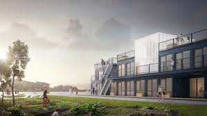 how a transportable student village could alleviate copenhagen u0027s