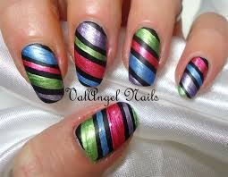 nail art strips how you can do it at home pictures designs