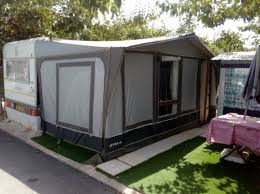 Awnings For Caravan Caravan And Awning For Sale On Camping Armanello Campsite In