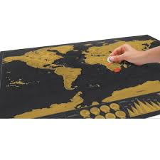 World Scratch Map by Expeditionary Scratch Off World Map Capitals Poster Travel Toy