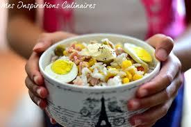 recettes de cuisine light recette salade de riz light au thon le cuisine de samar