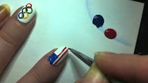 unique american flag nail art youtube for nail design ideas with