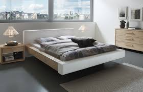 Schlafzimmer Bett Bilder Wildeiche Bett Mit Modernem Kunstleder Bett Mataro Betten De