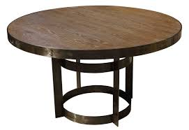 opulent design ideas industrial round dining table all dining room