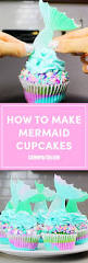 these mermaid cupcakes are pure magic mermaid party pinterest