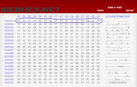 Hex Ascii Table Binary Analysis Bin File Is Not Only Storing 0s And 1s Ascii Or