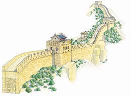 Map Of The Great Wall Of China by Great Wall Of China Illustration Dk Eyewitness Travel