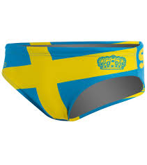 Swidish Flag Turbo Sweden Water Polo Suit At Swimoutlet Com