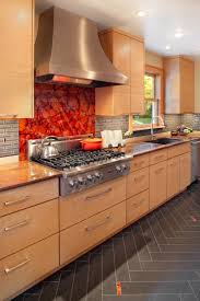 kitchen backsplash colors 36 colorful and original kitchen backsplash ideas digsdigs