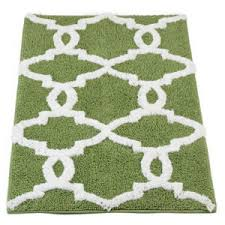 Green Bathroom Rugs Decorgreen Noble Excellence Brights Bath Rugs Polyvore