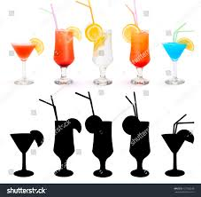 blue martini clip art cosmopolitan tequila sunrise gin tonic campari stock photo