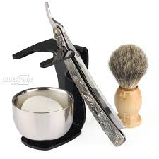 Old Fashioned Shave Kit Online Get Cheap Black Male Straight Hair Aliexpress Com