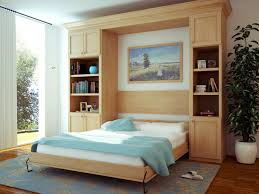 canyon creek cornerstone wall bed shaker maple natural seattle