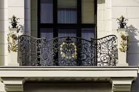 wrought iron balcony railings