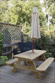 Wooden Picnic Tables With Separate Benches Exteriors Fabulous Picnic Table With Separate Benches Baby
