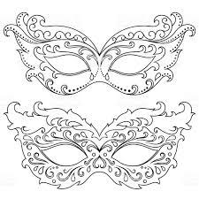 set festive masks beautiful mask to halloween new year carnival