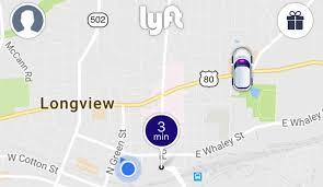 Kilgore Texas Map Ride Sharing Officially Enters Longview Market Longview News