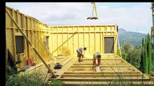 maison en bois style americaine construction maison à ossature bois bbc youtube
