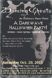 the halloween party from the black lagoon darkwave halloween party 10 29 11 dancing ghosts