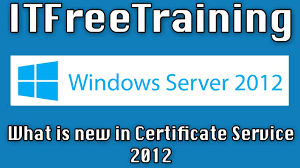 what is new in certificate services 2012 youtube