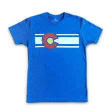 Flag T Shirt The Original Colorado Flag T Shirt For Men U2013 Colorado Limited