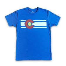State Flag Of Colorado The Original Colorado Flag T Shirt For Men U2013 Colorado Limited