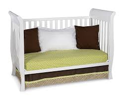 Convertible Sleigh Bed Crib by Amazon Com Delta Children Glenwood 3 In 1 Convertible Sleigh