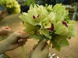 orchid bouquet cymbidium orchid bouquet diy