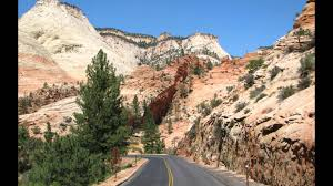 Scenic Byway by Zion Park Scenic Byway Youtube