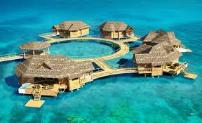 the caribbean u0027s first over the water bungalows luxury living