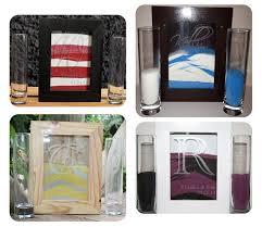 Sand Vases For Wedding Custom Order For Amanda H Wedding Unity Sand Shadow Box Set W