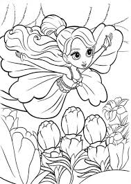 kids fun 19 coloring pages barbie thumbelina