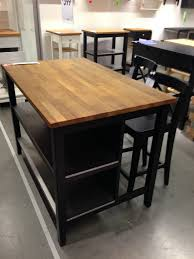 Furniture Kitchen Islands Ikea Stenstorp Kitchen Island Dark Oak Front Http Www Ikea Com