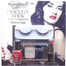 best colleges for makeup artists n femme fatale look eyelash makeup set
