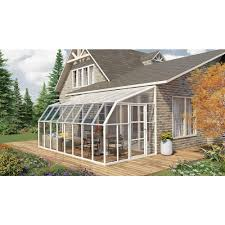 rion sun room 2 8 u0027 x 16 u0027 lean to greenhouse rion lean to