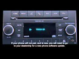dodge durango stereo 2013 dodge durango uconnect phone non touchscreen radio